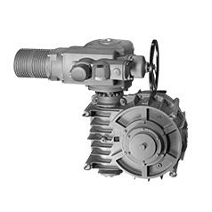 アクチュエータSA / ウォームギア減速機の組み合わせ